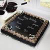Square Shape Dark Chocolate Cake (5 Kg)