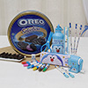 Stationery Set with a Box of Oreo Hamper