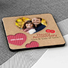 Stitches and Buttons Personalized Anniversary Coasters (Set of 4)
