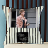 Strokes and Lines Personalized Birthday Cushion