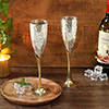 Stunning Silver Plated Bar Glasses
