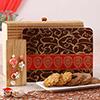 Stylish Bhaiya Bhabhi Rakhi with Assorted Dryfruit Butter Cookies