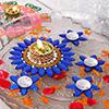 Stylish Flower Pattern Floating Diyas