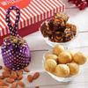 Sugarfree Anjeer Barfi With Almonds & Mewa Kachori in a Gift Box