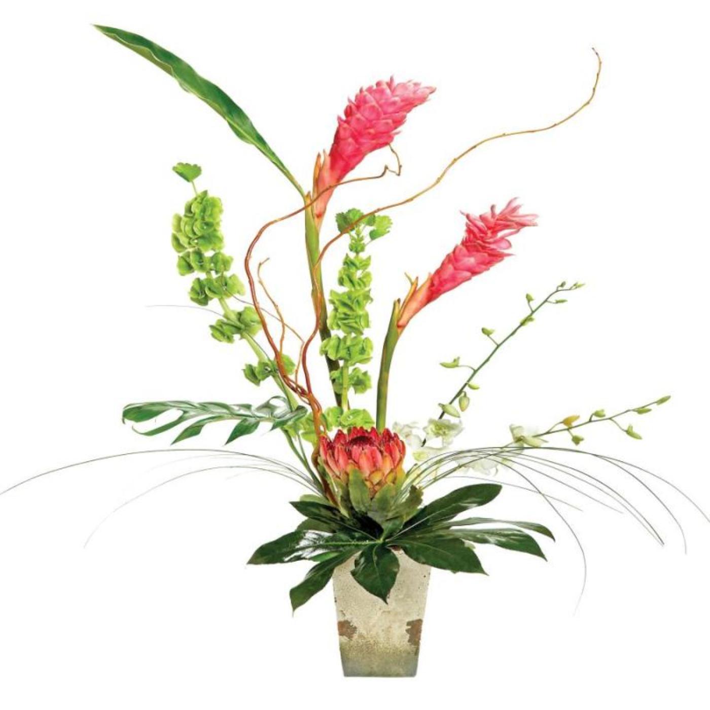 Summer Heat - Ceramic Vase Arrangement