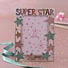 SUPER STAR Message Portrait Photo Frame