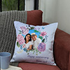 Sweet Personalized Anniversary Cushion for Mom & Dad
