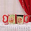 Teddy Faces Mugs Set of 2