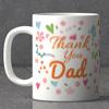 Thank You Dad Personalized Mug