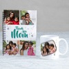 Thank - You Mom Personalized Notebook & Mug Combo
