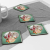 To the Best Mom Personalized Anniversary Coasters (Set of 4)