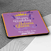 To the Fitness Queen Personalized Birthday Coasters (Set of 4)