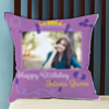 To the Fitness Queen Personalized Birthday Cushion
