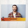 To the Super Hero Personalized Birthday Poster