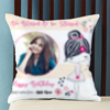 Too blessed to be Stressed Personalized Birthday Cushion
