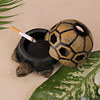 Tortoise Design Ashtray With Cover