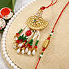 Traditional Bhaiya Bhabhi Rakhi  Set