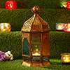 Traditional Copper Hanging Lantern