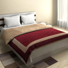 Traditional Cotton Double Bed Quilt in Gray