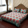 Traditional Cotton Multi-color Bed Sheet