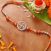 Traditional Swastik Beads Rakhi