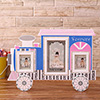 Train Engine Style 3-in-1 Personalized Photo Frame