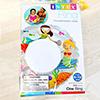 Transparent Swim Ring For Kids