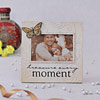 TREASURE EVERY MOMENT Quote Ceramic Photo Frame