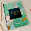 Tropical Love Personalized Notebook