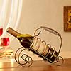 Twirl Crafted Metal Bottle Holder