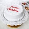 Two kg Round Vanilla Cake