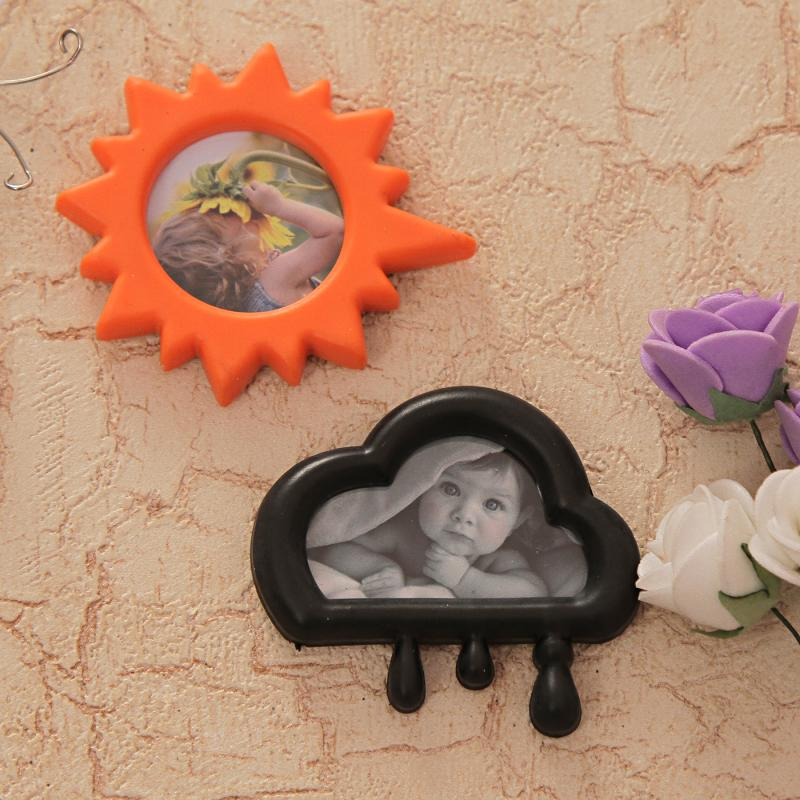 Two Tiny Magnetic Photo Frames Set