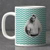Wavey Pattern Personalized Birthday Mug