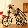 Well Designed Bicycle Shaped Wine Bottle Holder