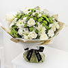 White Radiance Hand Tied (Extra Large)