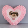Will Always Love You Personalized Heart Shaped Cushion
