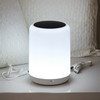 Wireless Bluetooth Speaker with Colorful Touch & LED Light Lamp