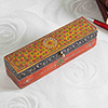 Wooden Box with Embossed Painting