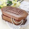 Wooden Trinket Jewelry Box
