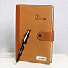 Workaholic Professional Personalized Diary and Pen