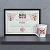 World's Best Mom Certificate & Mug Combo