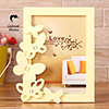 Yellow Butterfly Personalized Photo Frame