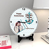 You are my One and Only Personalized Anniversary Clock