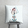 You are my One and Only Personalized Anniversary Cushion