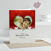 You Make Me Smile Personalized Valentine Greeting Card