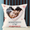 You're my favorite part of us Personalized Anniversary Cushion