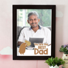You're the Best Dad Personalized A3 Photo Frame
