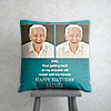 Your Guiding Hand Personalized Birthday Cushion