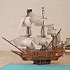 Zilipoo Spanish Ship 3D  Model Jigsaw Puzzle